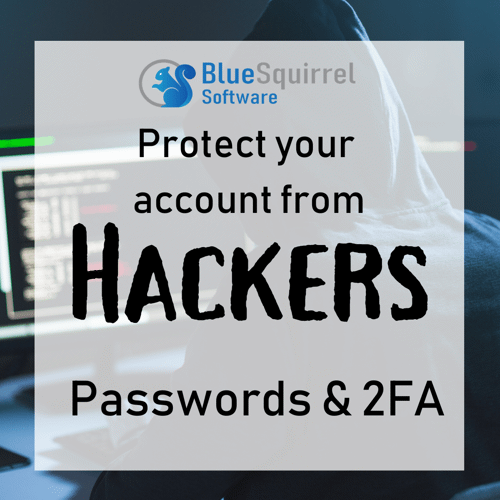 Passwords and 2FA